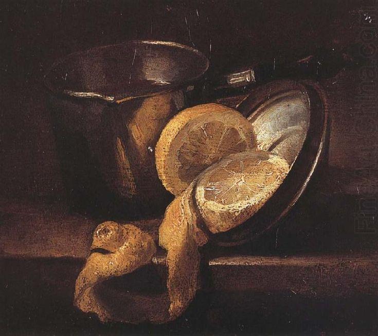 Still Life with Lemons, Nicolae Grigorescu