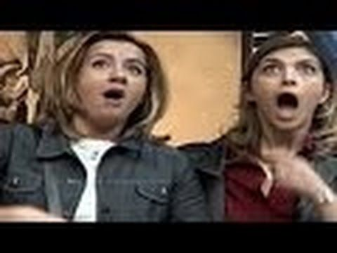 SEXY Woman Flying HORROR Prank Video Top Funny Videos 2014