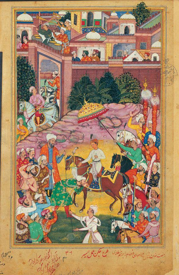 a line from akbar nameh 1584