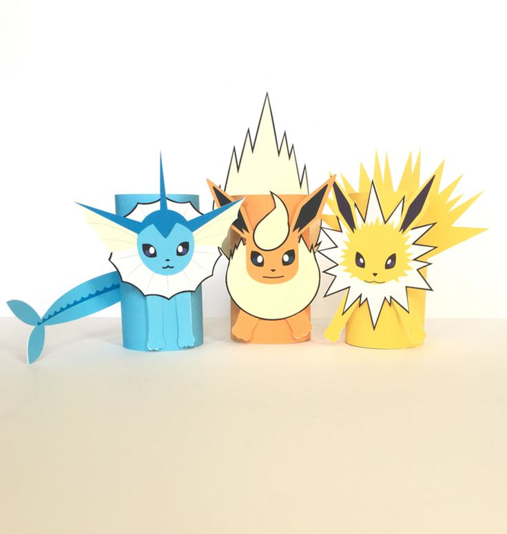 Vaporeon, Flareon and Jolteon are some of the more popular Pokemon. Evolutions of Eevee, these powerful Pokemon are the coolest and cutest all wrapped up into one!