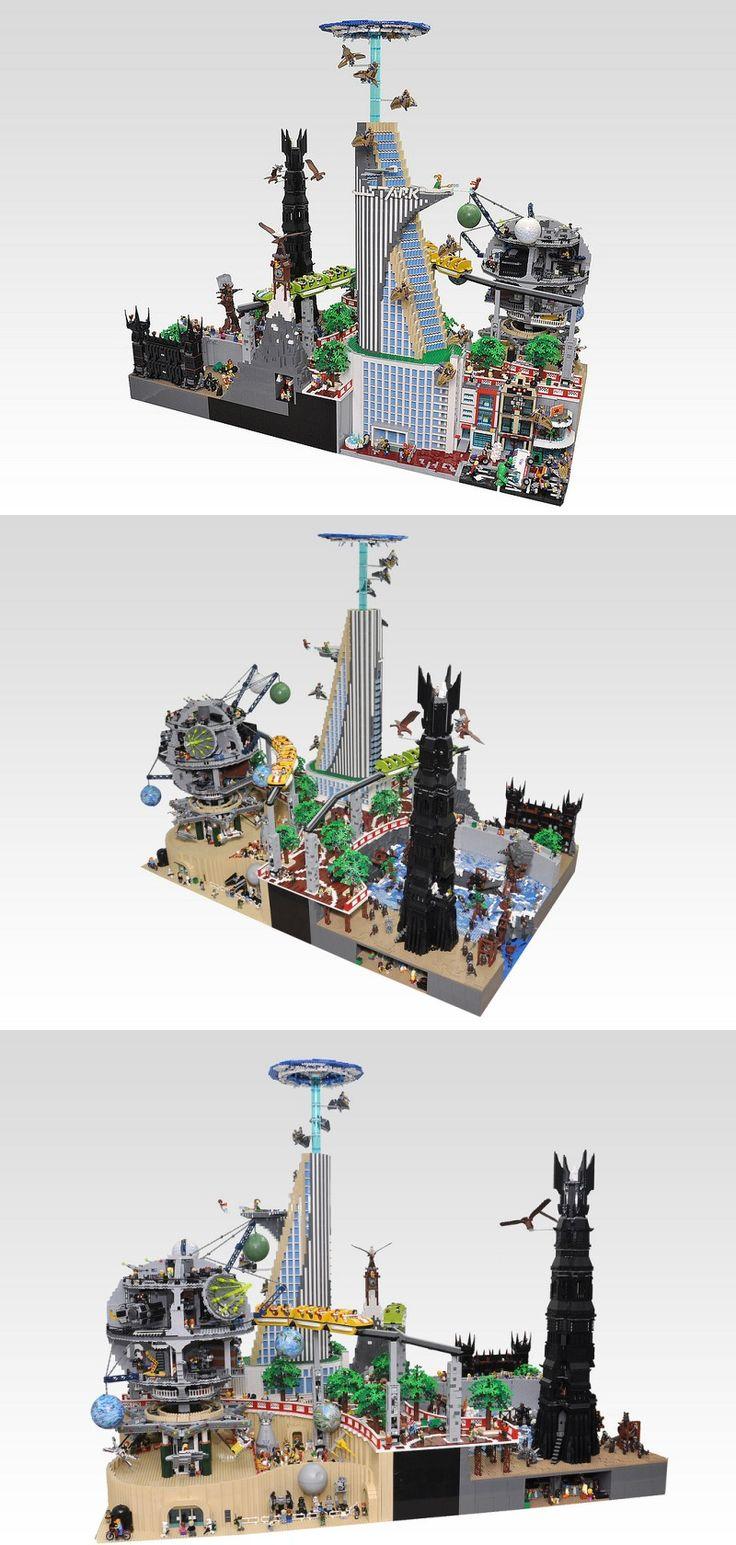 Lego construcción.