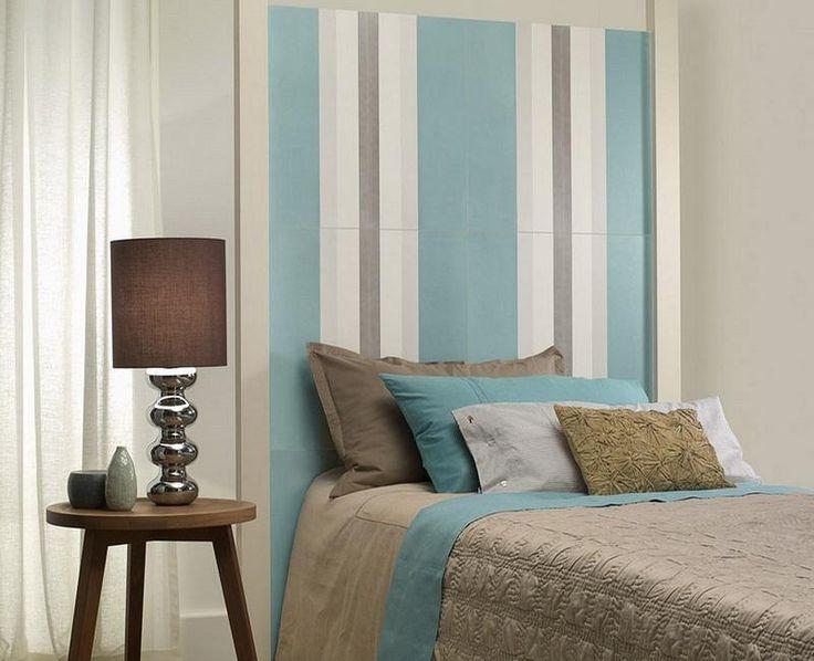 Cabeceros únicos para decorar nuestro dormitorio y sacar mucho partido a las paredes.