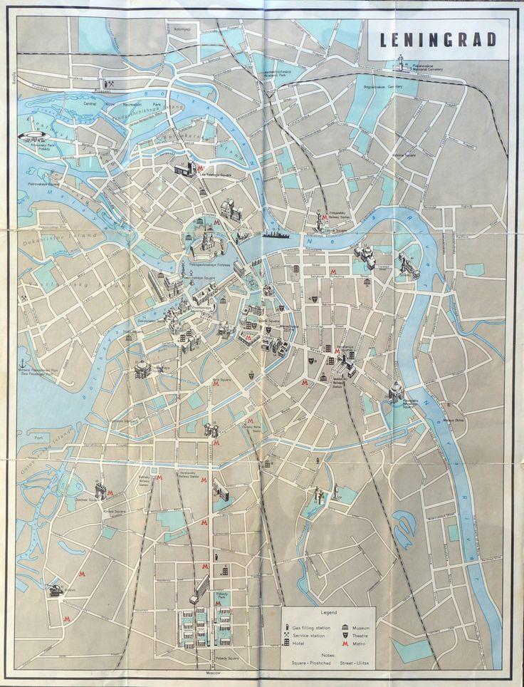 Leningrad, ~1975. - Maps on the Web