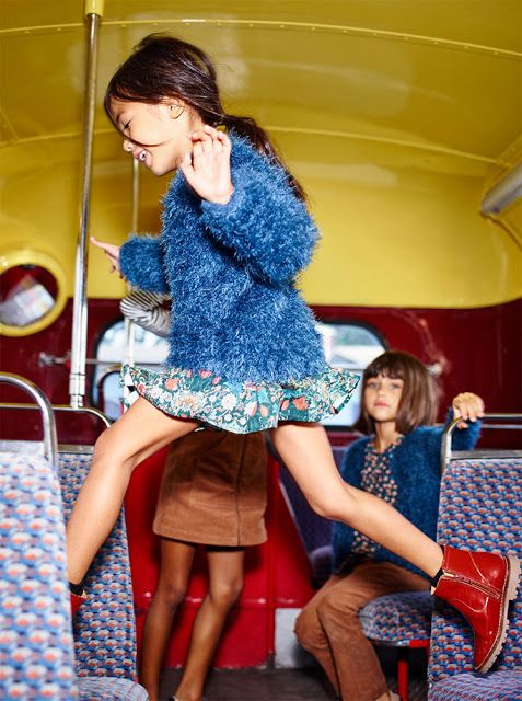 "⌂ Home & Lifestyle: Fashion Campaigns; ZARA Kids Colección ""Back to School"""