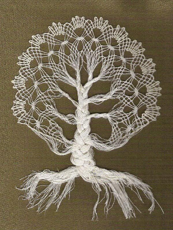 Bobbin Lace - tree