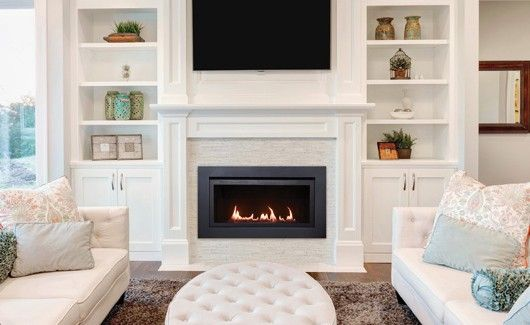 Linear Gas Fireplace - The Langley 36 - Sierra Flame | Sierra Flame