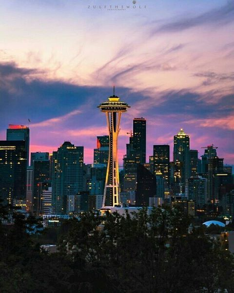 Kerry Park, Seattle -   Photo by: @zulfthewolf  - Use #StudentUniverseUK for your chance to be featured  . . . . #kerrypark #seattle #app #backpacking #beautiful #bestplacestogo #burningman #countries #explore #justgo #instatravel#location #n
