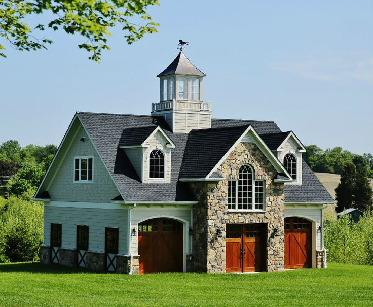 Best 25 barn garage ideas on pinterest carriage house for Carriage barn plans