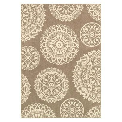 Shaw Living Medallion Area Rug Gray For The Home Pinterest