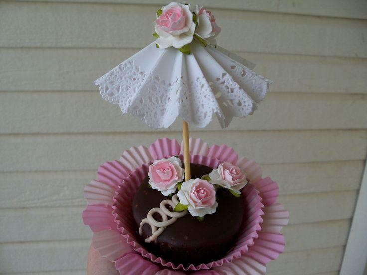 Di compleanno decorazione madre giorno tre Parasol Cupcake