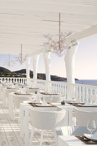 Cotton Beach Club, Ibiza beach wedding venue
