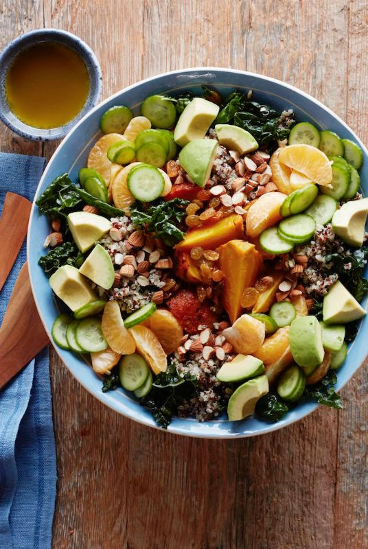 Superfood Salad from www.whatsgabycooking.com - everything you need to get through a busy day! (@whatsgabycookin)