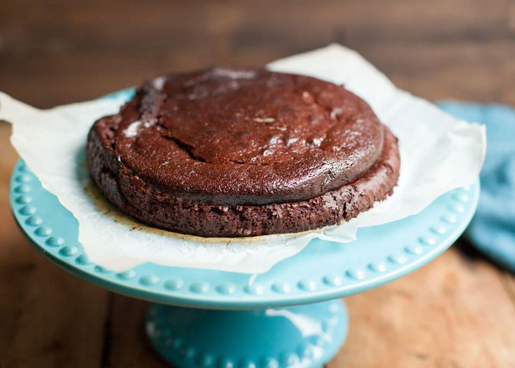 Fudgy chocolade taart