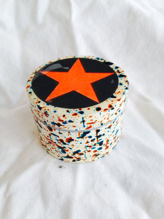 Aluminum tobacco herb spice weed grinder STAR by coolhippystuff