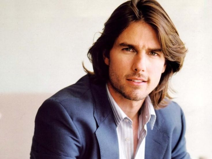 Tom cruise with long hair