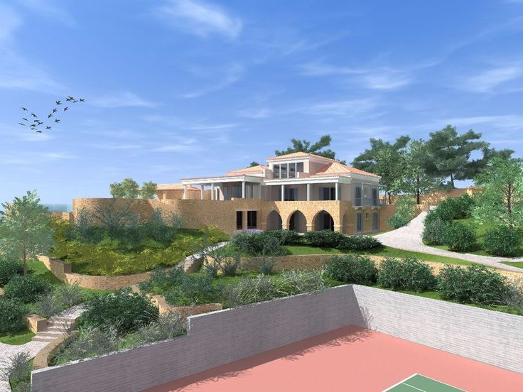 ROYAL MANSION 964 sq.m. ON A PRIVILEGED PLOT OF LAND 4300 sq