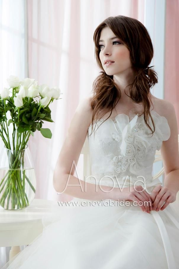 Stunning Are you looking for a wedding gown with sophisticated bodice Anovia Bridal Couture Rental