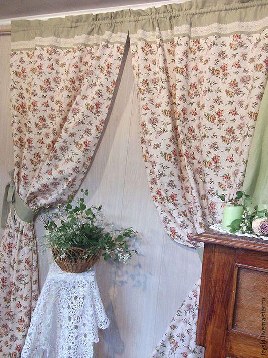 Текстиль, ковры ручной работы. Шторы льняные
