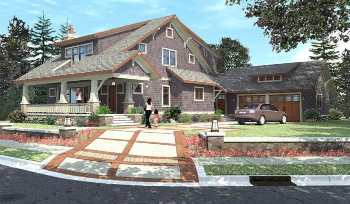 1900 american bungalow house plans bungalow house plans for American craftsman home plans