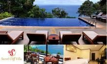 S$46.00 - Only $46 instead of $95 for Cliff-top, Sea-facing Romantic Phuket Accommodation! Stay 1-night in Superior Villa Sea View for 2 with Breakfast