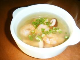 エビと春雨の中華スープ♪