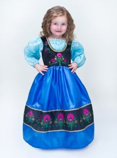 Princess Anna costume - High Quality real dress for girls♡ High Qualiy too good to be a toy dress, it's a real dress.