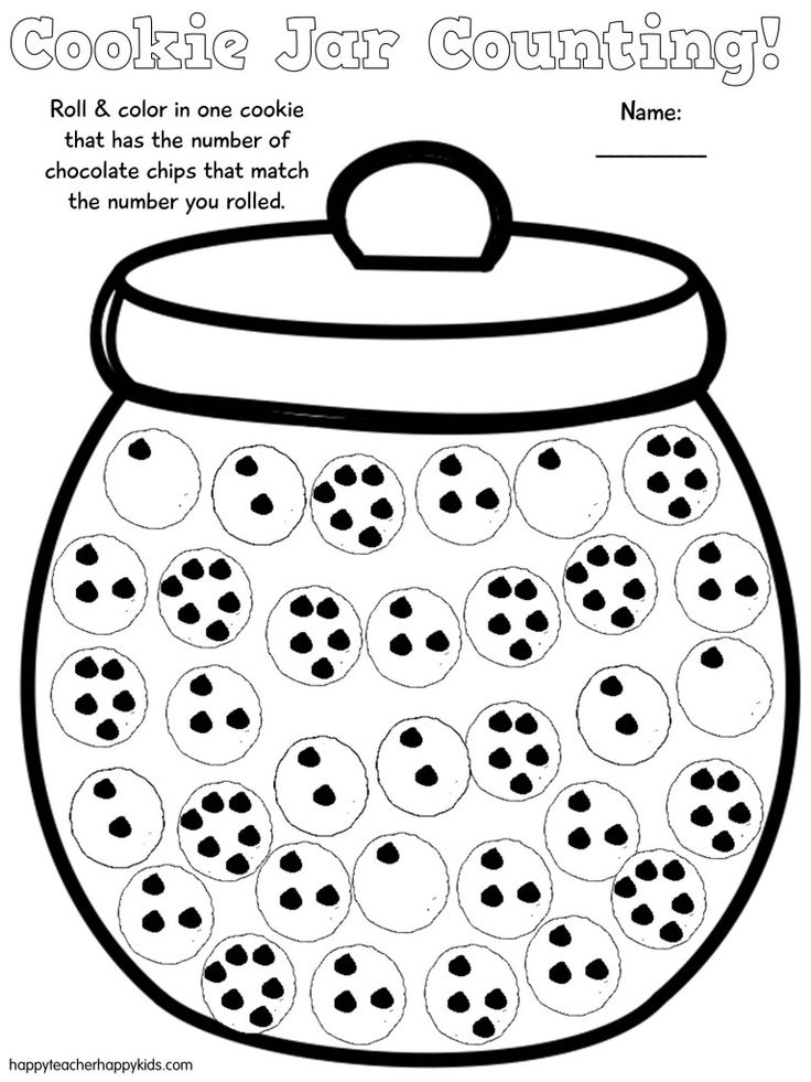 if you give a mouse a cookie - Free Cookie Jar Math Game