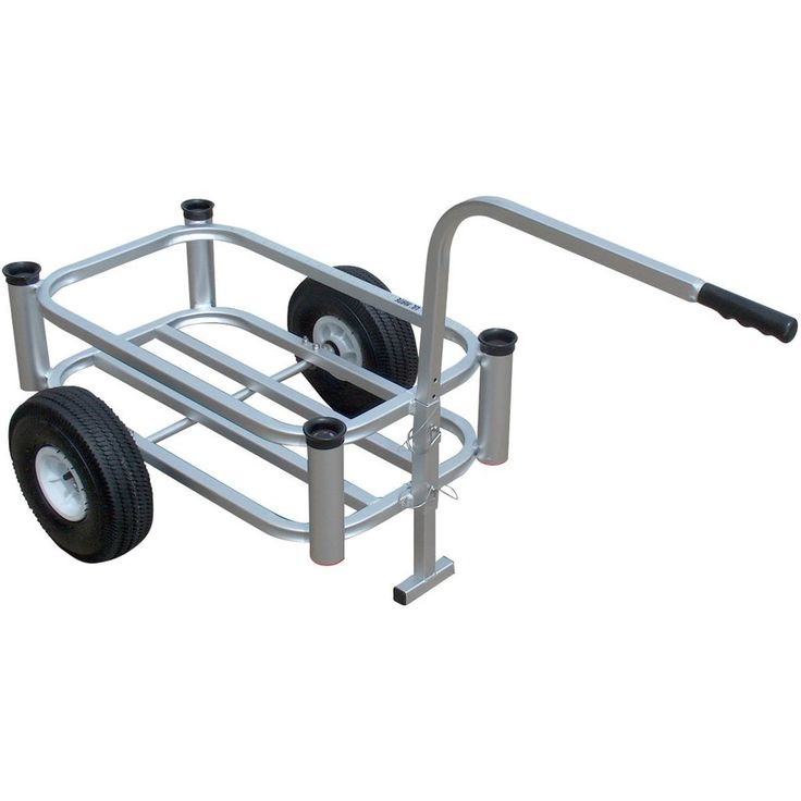 Fish N Mate Lil' Mate beach fishing cart is like having you're own little deck…