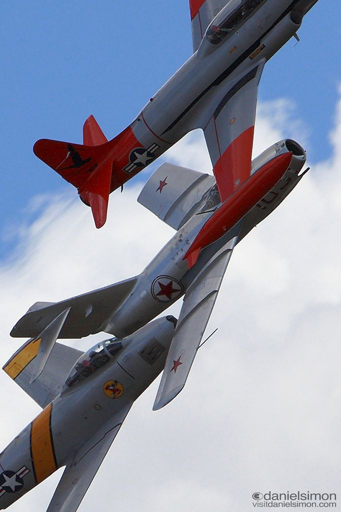 f 86 sabre mig 15 and t