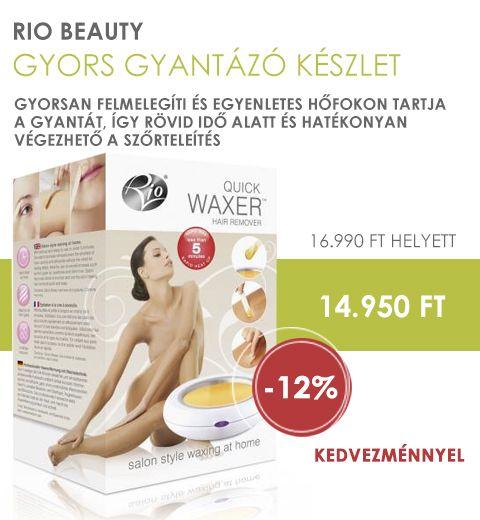Rio Beauty Gyors gyantázó készlet árengedménnyel