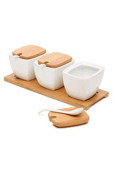 Sugar Bowls Set of 3  #witcherywishlist