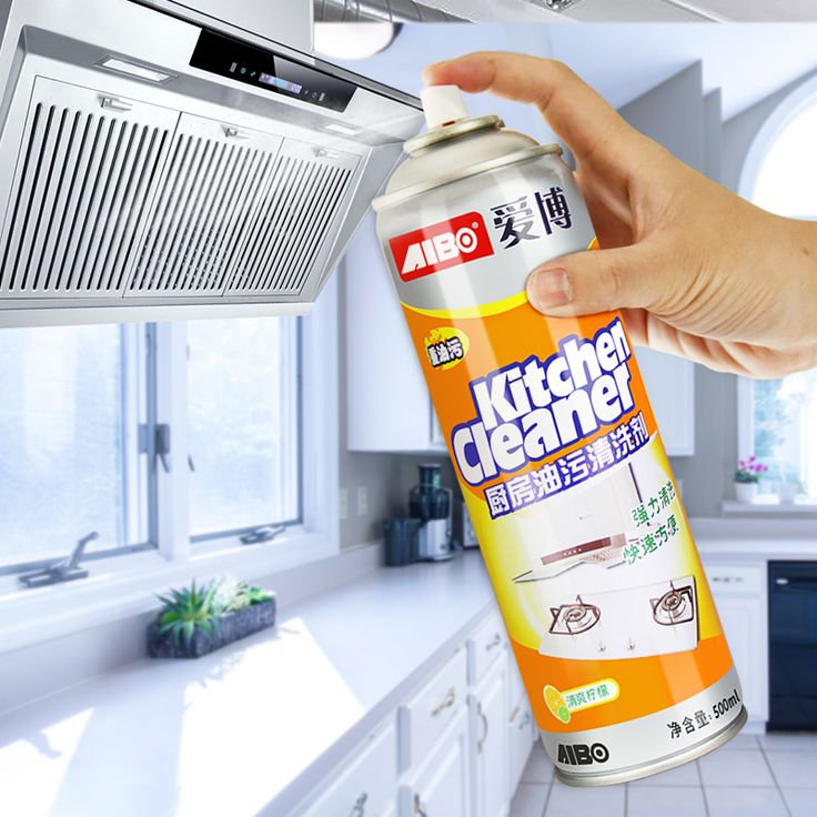 Range hood cleaning agent kitchen strong degreasing multi