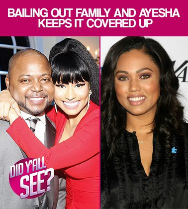 On this week's episode of Did Y'all See, we're discussing Ayesha Curry, Nicki Minaj's mom and whether they made the right choices this week.