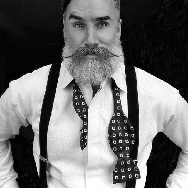 #Dapper gentleman, #cool #epic #beard, by Greg Berzinsky #menswear