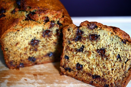 Chocolate chip banana bread. Bomb. | look out tummy | Pinterest