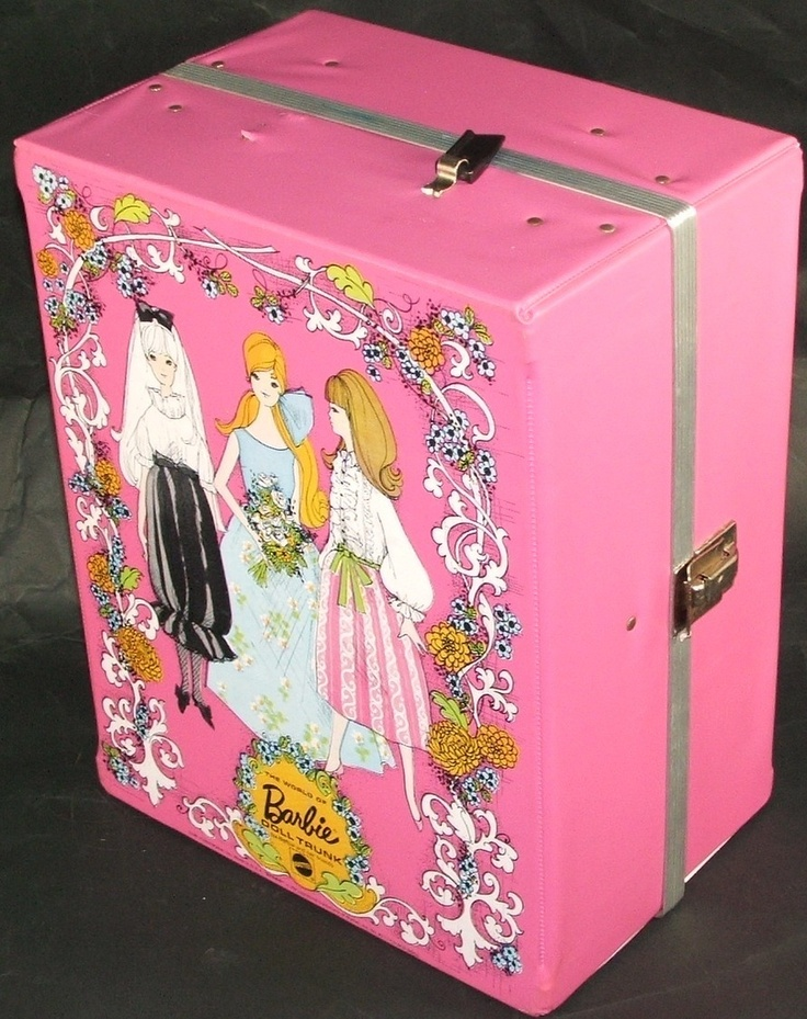 Pretty Barbie Carrying Case