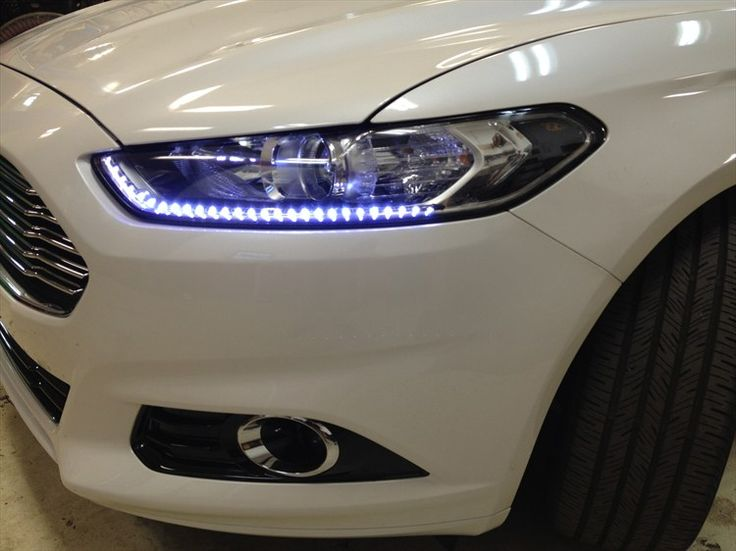 (Charger0nDavins) 2013 Ford Fusion Led Daytime Headlights