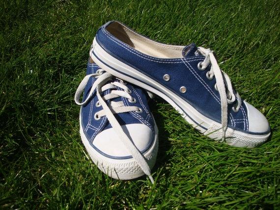 Vintage Converse Navy Blue Mule Chuck Taylor Sneakers