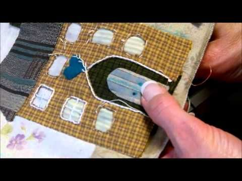 Bloc 2 - video 2/2  - Mystery Quilt Yoko Saito by QUILTMANIA Editions http://www.quiltmania.com/english/home.html