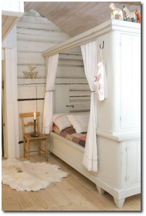 209 best gustavian swedish interiors images on pinterest for Built in bedroom furniture