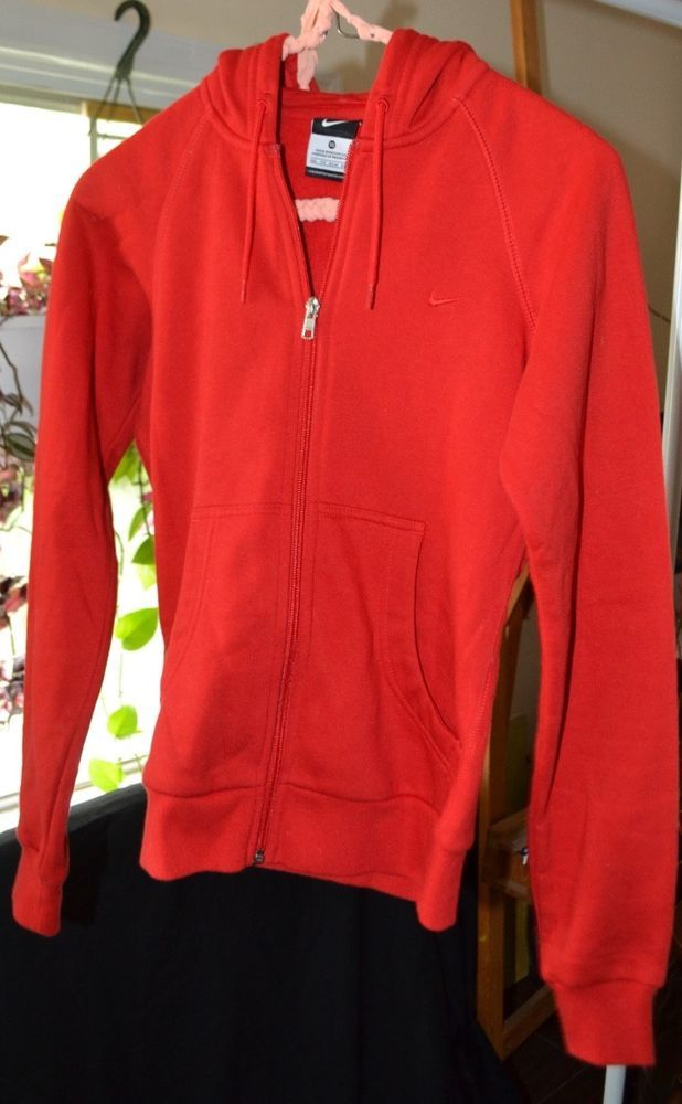 5f5092dd8ad3 Womens Nike zip up hoodie red size XS  fashion  clothing  shoes   accessories  womensclothing  activewear (ebay link)