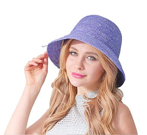ラフィア帽子 ハットレディース 手で編み ツバ広 Purple 100%自然Raffia straw hat by... https://www.amazon.co.jp/dp/B01G7X5YEA/ref=cm_sw_r_pi_dp_vucLxbV4XFMM8