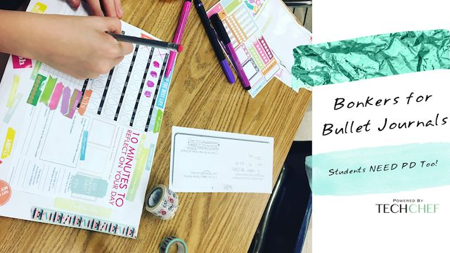"NEW POST! This includes highlights from our Fit Fest (a day of sessions on health and wellness... FOR STUDENTS) and more about the session I delivered ""Bonkers for Bullet Journaling"" which I delivered to 54 Middle Schoolers!"