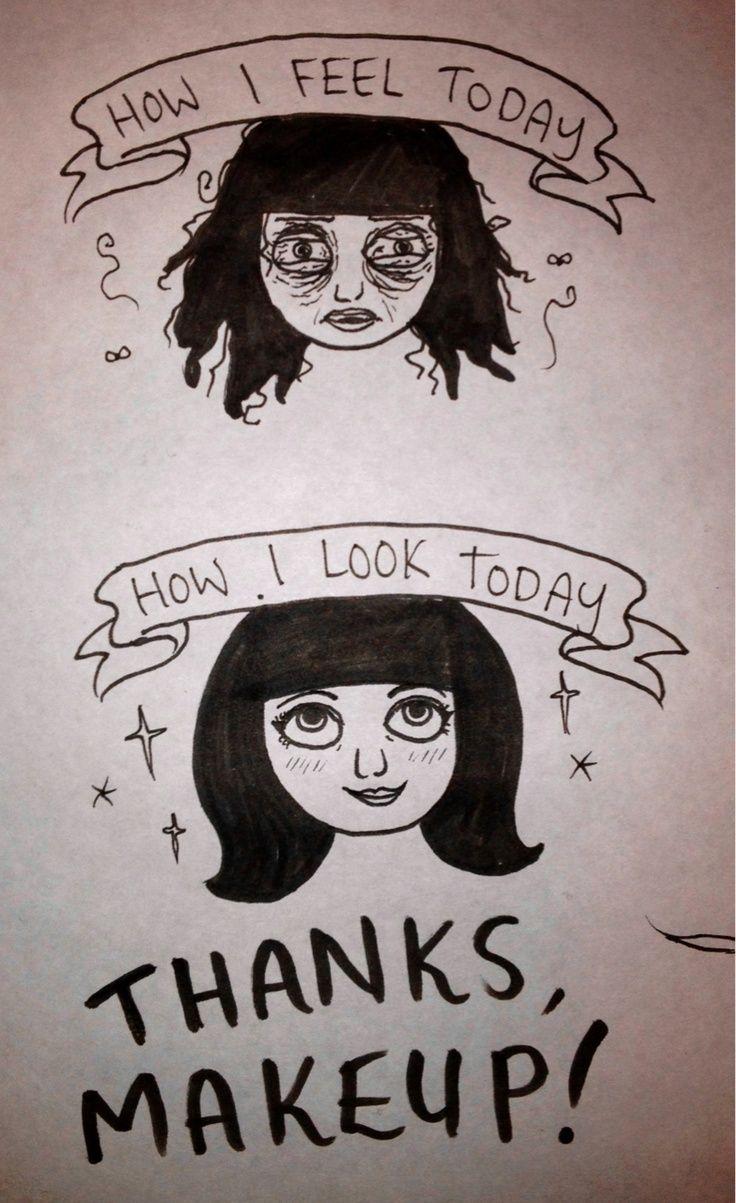 Someday's my gratitude knows no bounds! #humor   #beauty   #makeuptips