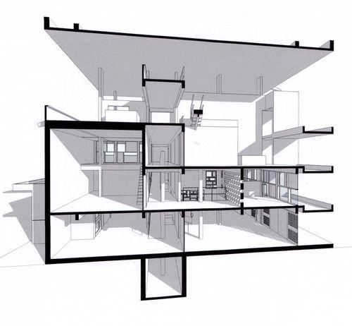 Le corbusier shodan architect le corbusier for Corbusier sessel 00 schneider