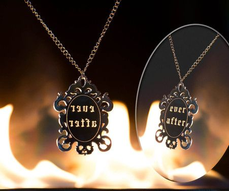 Ever After Magic Mirror pendant. Made in Finland by @KiviMeri.