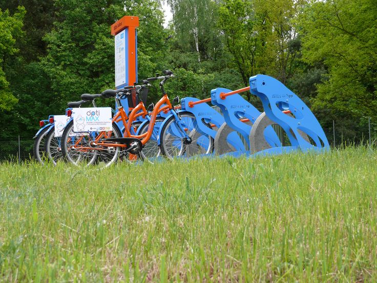 Filfri Bikes - Bike station side view