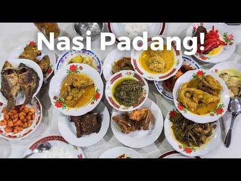 Nasi Padang - Amazing Beef Rendang and Gulai Otak!