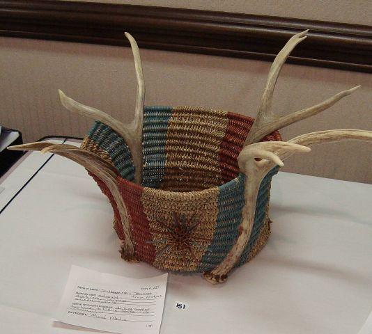 Handmade Baskets North Carolina : Best baskets antler images on basket