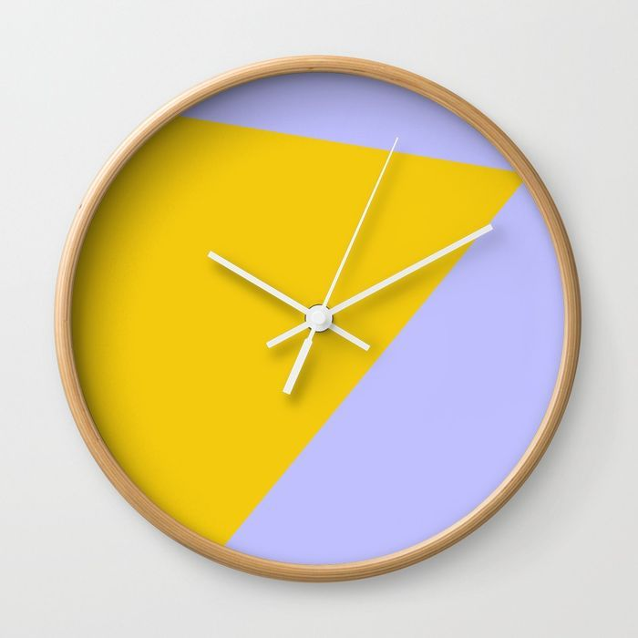 Blue Sky and Sunshine Wall Clock by Bravely Optimistic | Society6